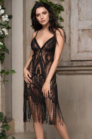 "Сорочка на тонких бретелях 2150 Mia-Amore ""Esmeralda"""