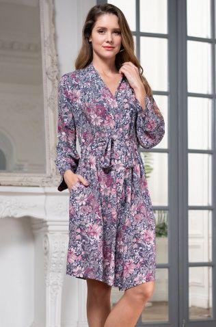 Короткий халат Mia-Amore 1243