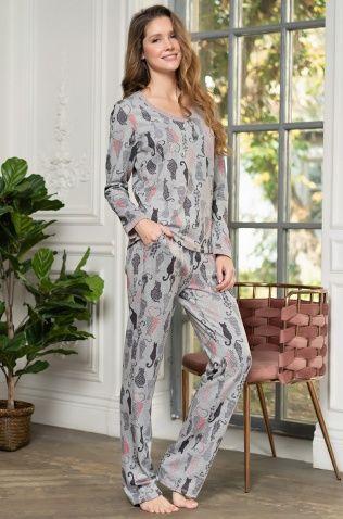 Комплект лонгслив и брюки Mia-Mella 1326