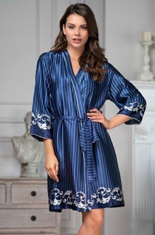 Короткий халат Mia-Amore 8613